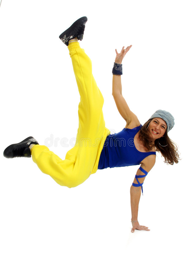 Hip Hop dancer stock photography