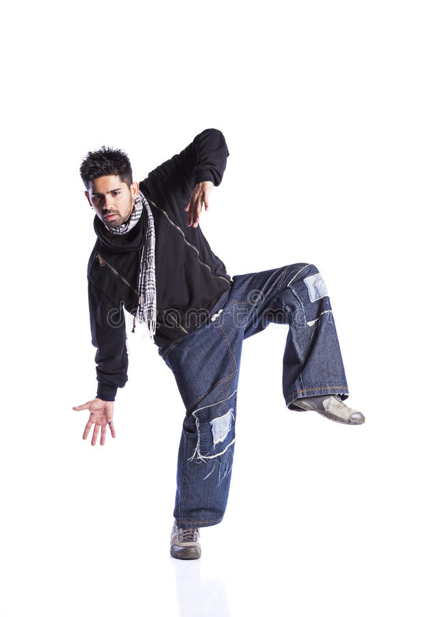 Hip hop dancer royalty free stock photos