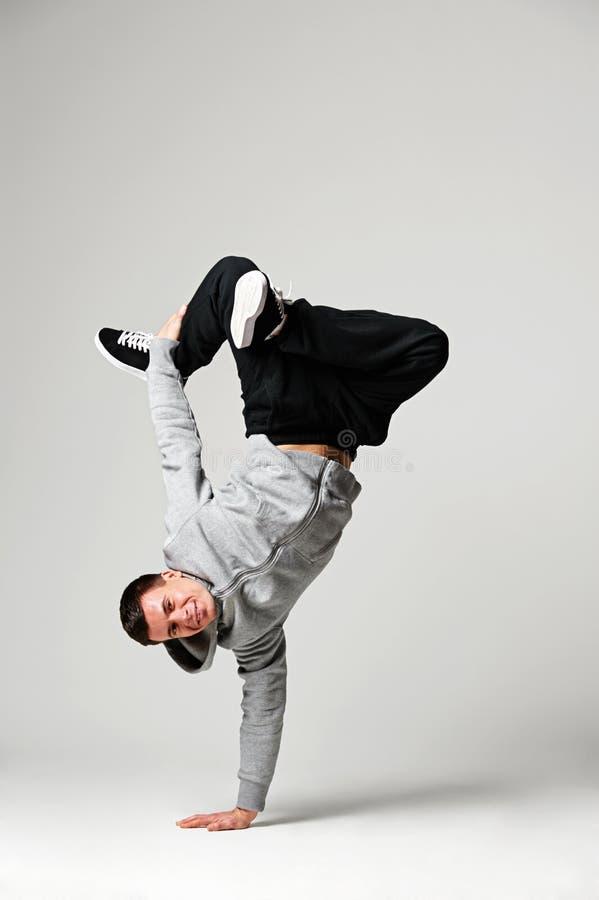 Download Hip-hop Dancer Over Grey Background Stock Image - Image: 29015467