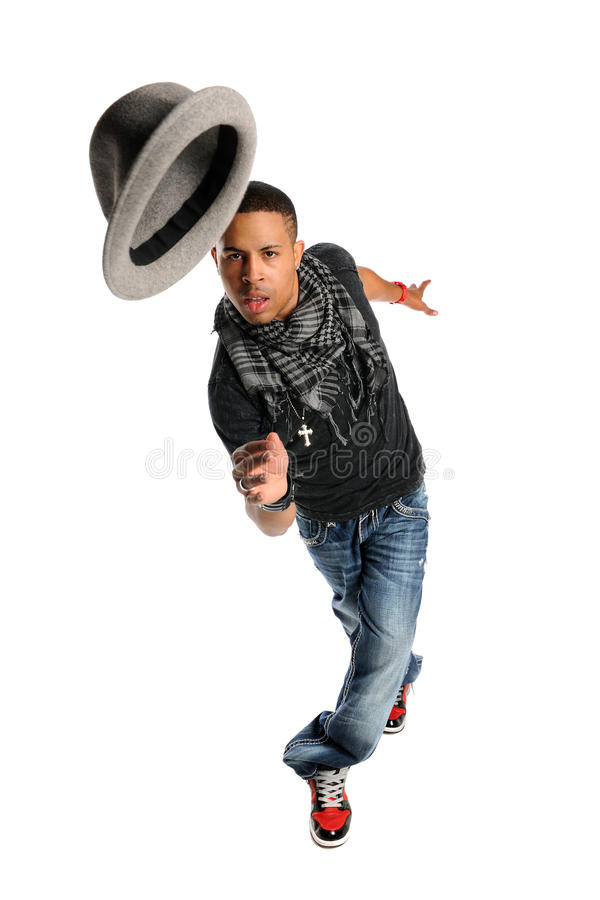 Download Hip Hop Dancer Performing Royalty Free Stock Photography - Image: 18121217