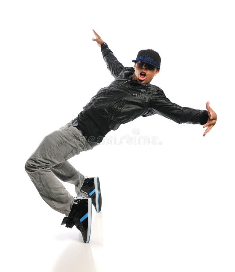 Hip Hop Dancer Performing stock photos