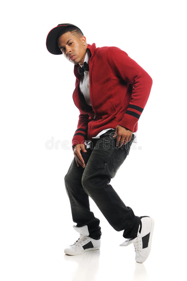 Download Hip Hop dancer's portrait stock image. Image of performance - 15551001