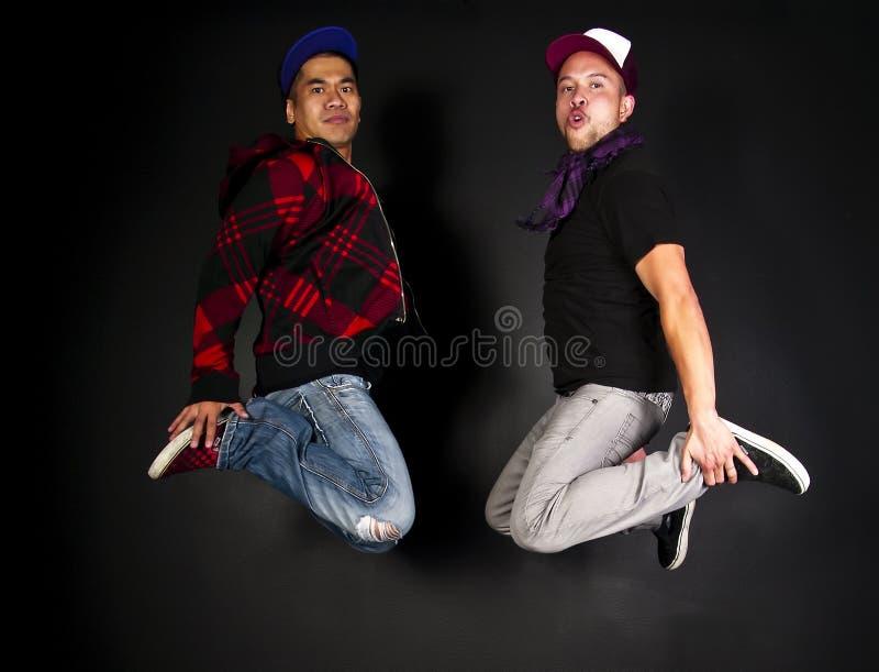 Hip hop dancer series royalty free stock image