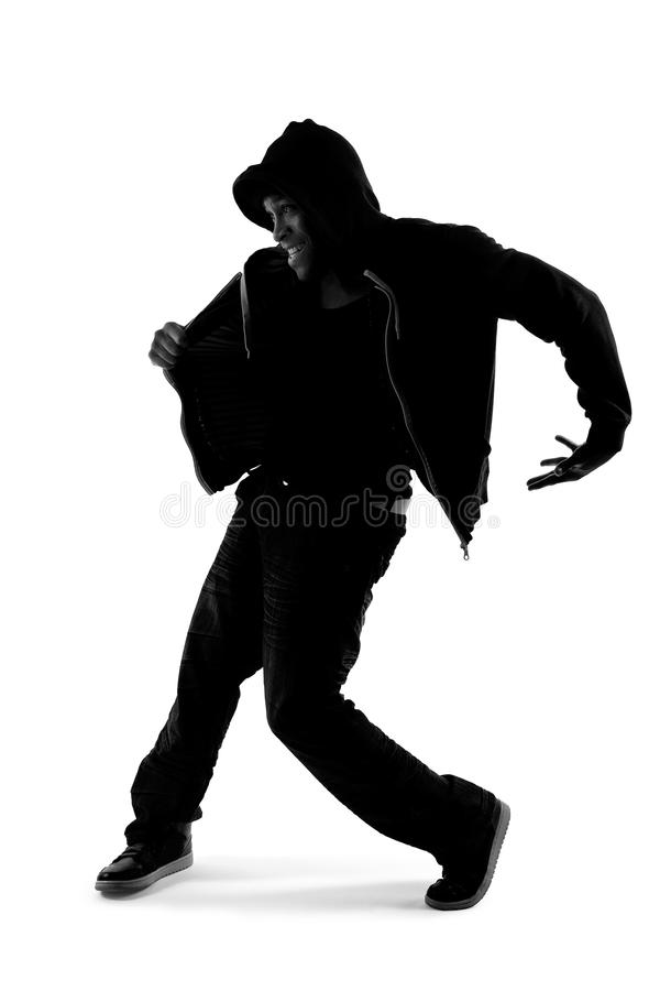 Hip Hop Dancer Silhouette