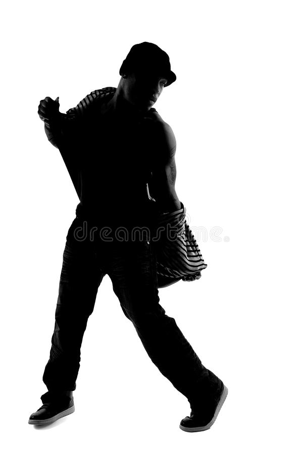 Download Hip Hop Dancer Silhouette Stock Image Of Breakdance