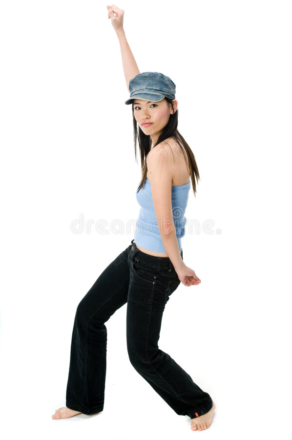 Hip Hop Dancing royalty free stock images