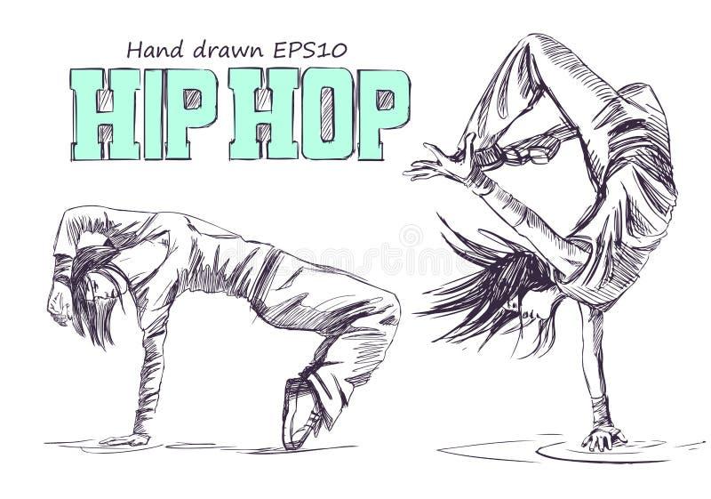 Hip Hop dansare arkivbilder