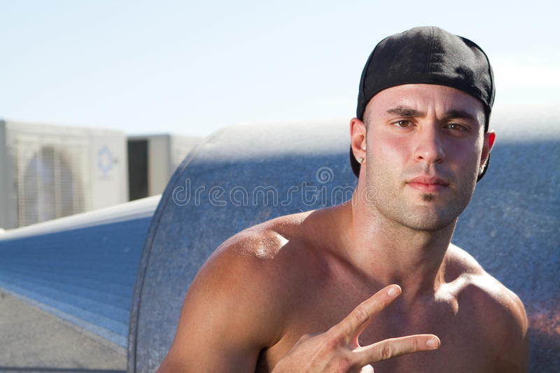 Download Hip hop dude stock photo. Image of performance, move - 13433394