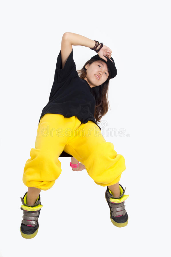 Free Hip Hop Girl Stock Photography - 26138012
