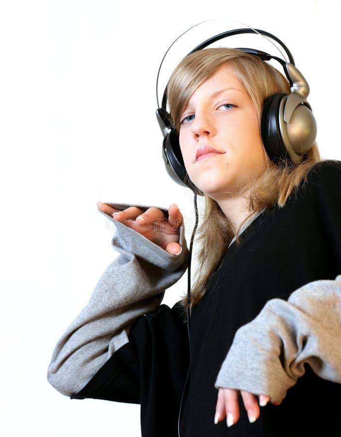 Download Hip Hop-Mädchen stockbild. Bild von jugendlicher, städtisch - 45145