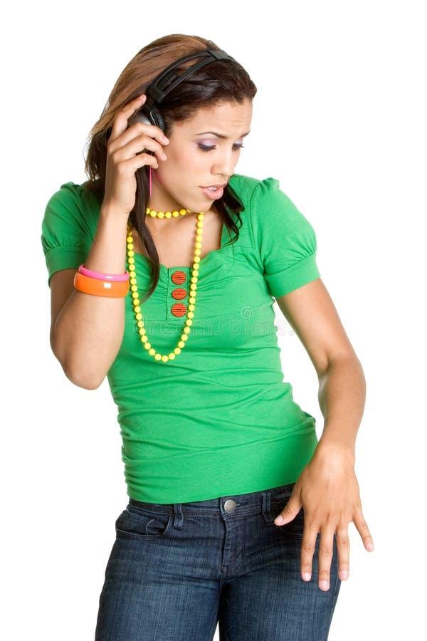 Hip Hop-Mädchen lizenzfreie stockfotografie