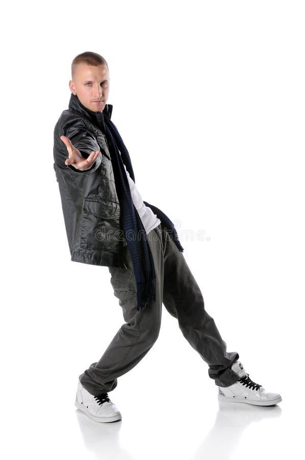 Hip Hop Man Dancing royalty free stock image