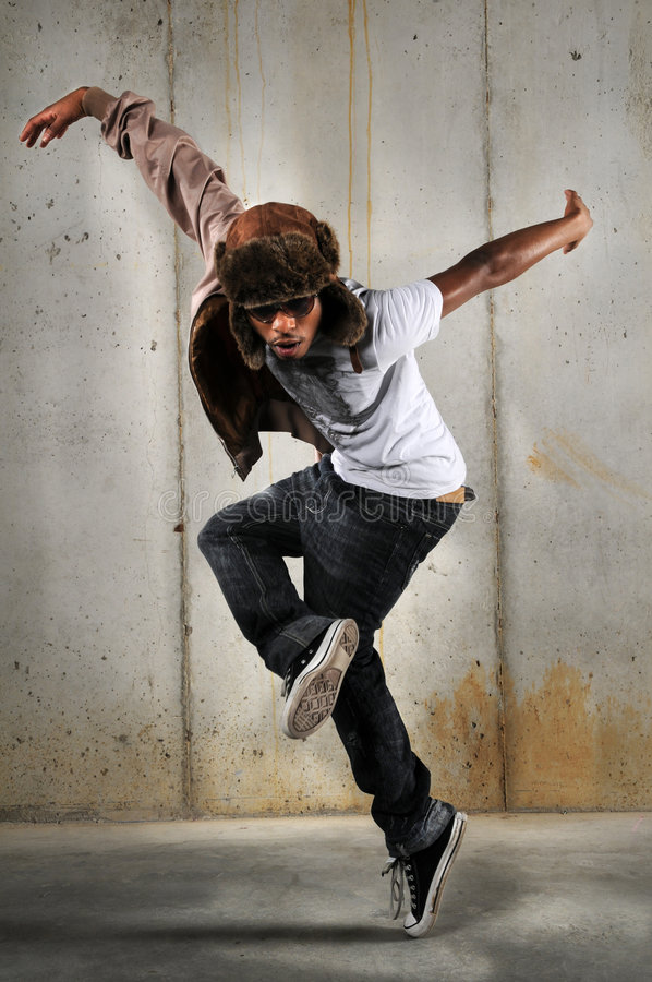 Download Hip Hop Man Dancing stock photo. Image of pose, culture - 8381454