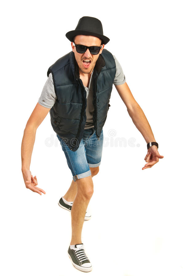 Download Hip hop man gesturing stock image. Image of freestyle - 31737533