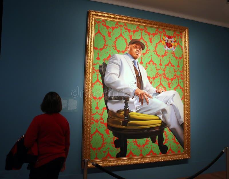 Hip Hop Star LL Cool J image libre de droits