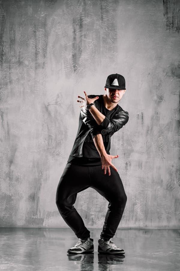 hip-hop tancerz obrazy royalty free