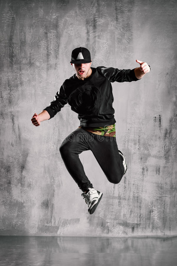 hip-hop tancerz zdjęcie stock