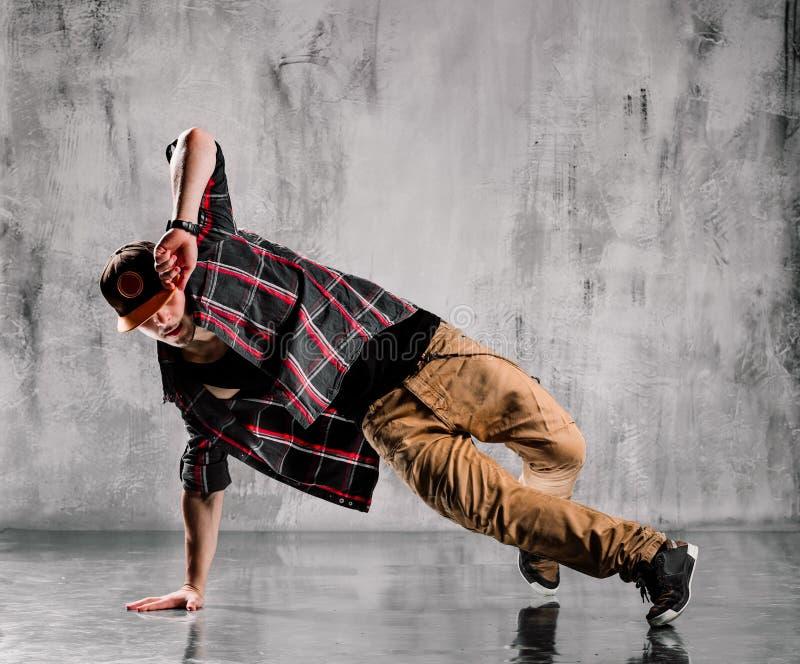 hip-hop tancerz obraz royalty free