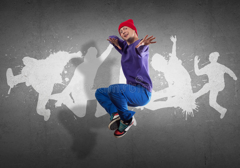 Hip Hop tancerz obraz royalty free