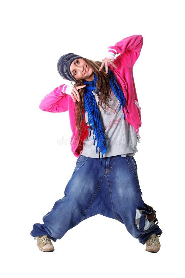 Hip hop woman dancer royalty free stock photos