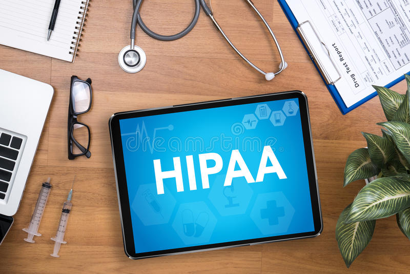 HIPAA στοκ φωτογραφία