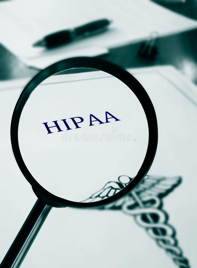 HIPAA-document stock fotografie