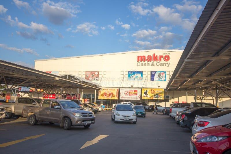 Hipermercado Hangdong Chiang Mai de Makro imágenes de archivo libres de regalías