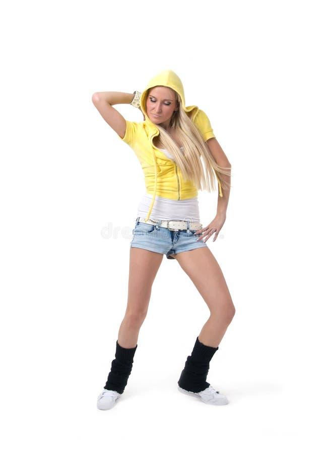 Hiphop dancer stock image