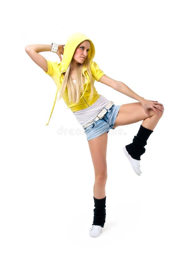 Hiphop dancer stock photos
