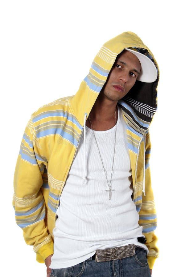 hiphop model obraz stock