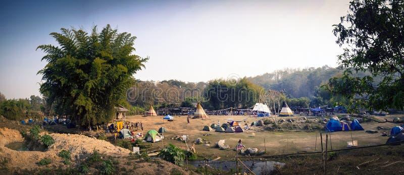 Hipisa festiwal fotografia stock