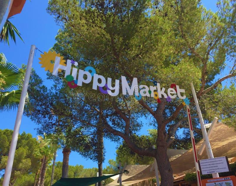 Hipisa Targowy wejście, Ibiza obraz royalty free