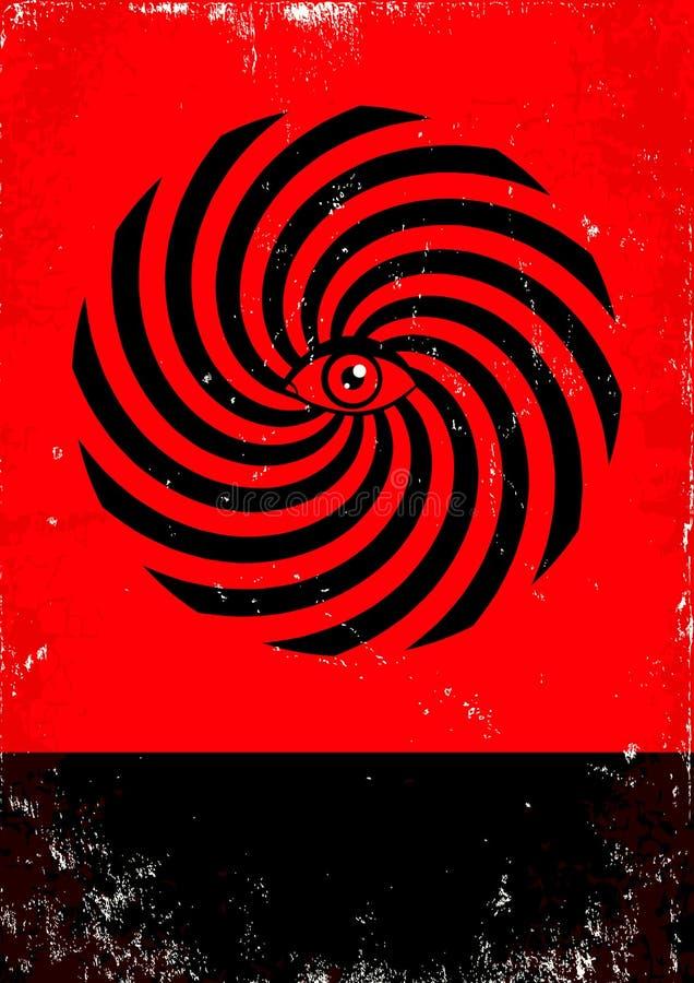 Hipnosis stock de ilustración