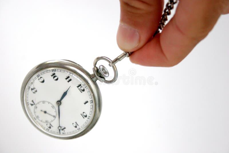 Hipnotismo del reloj fotos de archivo libres de regalías