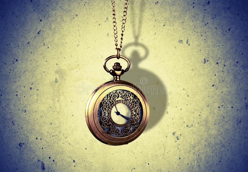 Hipnotyzera zegar obraz stock
