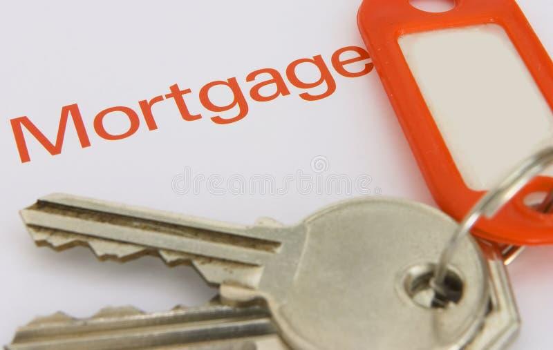 Hipoteca 1 imagens de stock