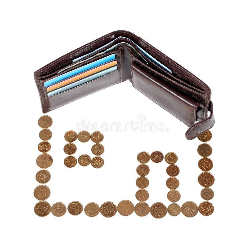 Hipoteca imagem de stock