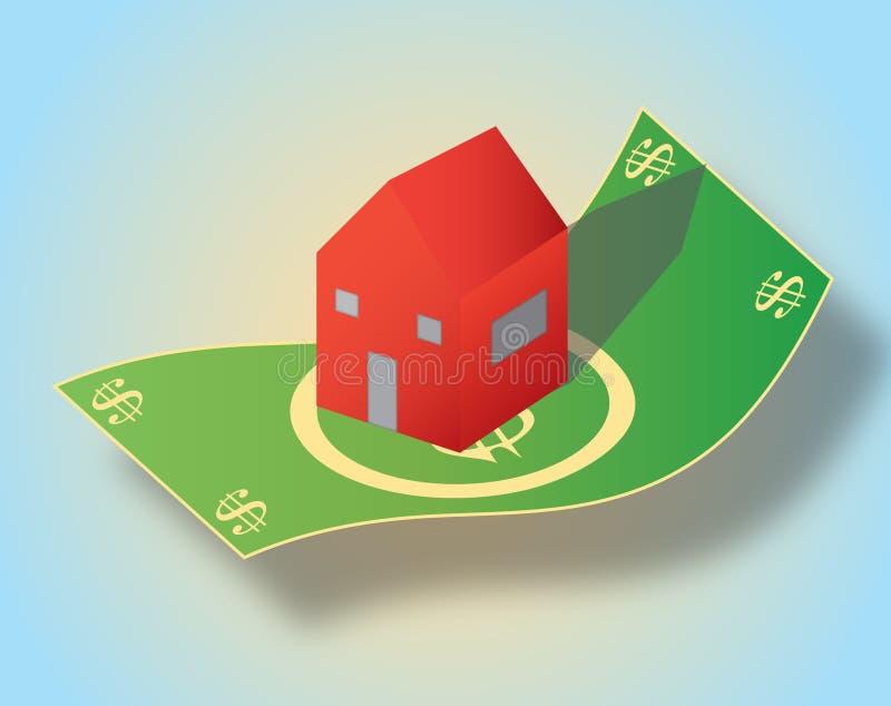 Hipoteca stock de ilustración