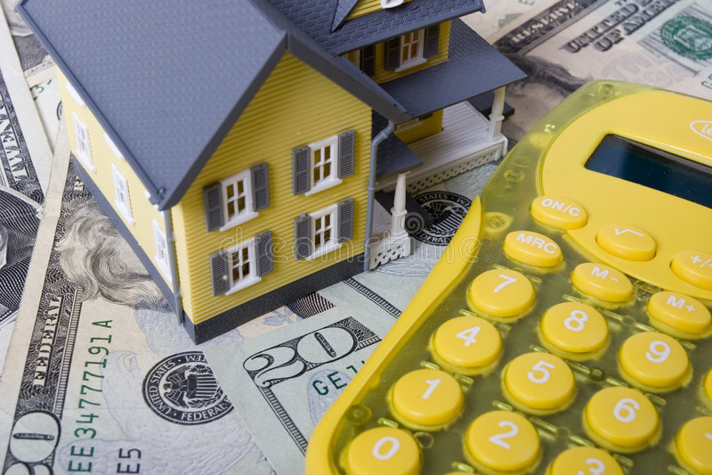 Hipoteca e sinal foto de stock royalty free