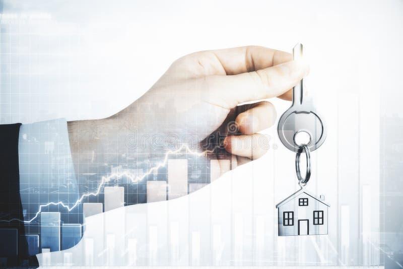 Hipoteca y concepto de las ventas fotos de archivo libres de regalías