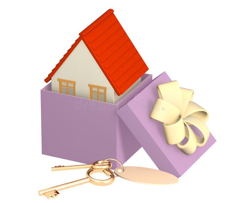 hipoteka ilustracja wektor