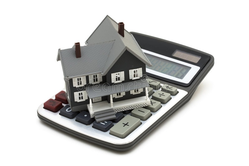 hipoteka kalkulator fotografia royalty free