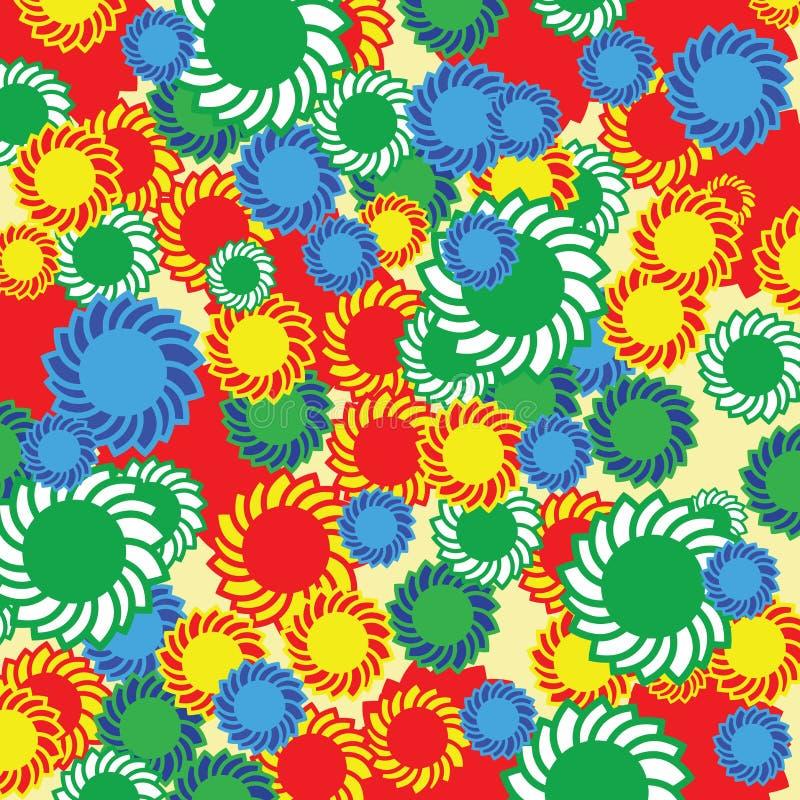 Hippie stock illustratie