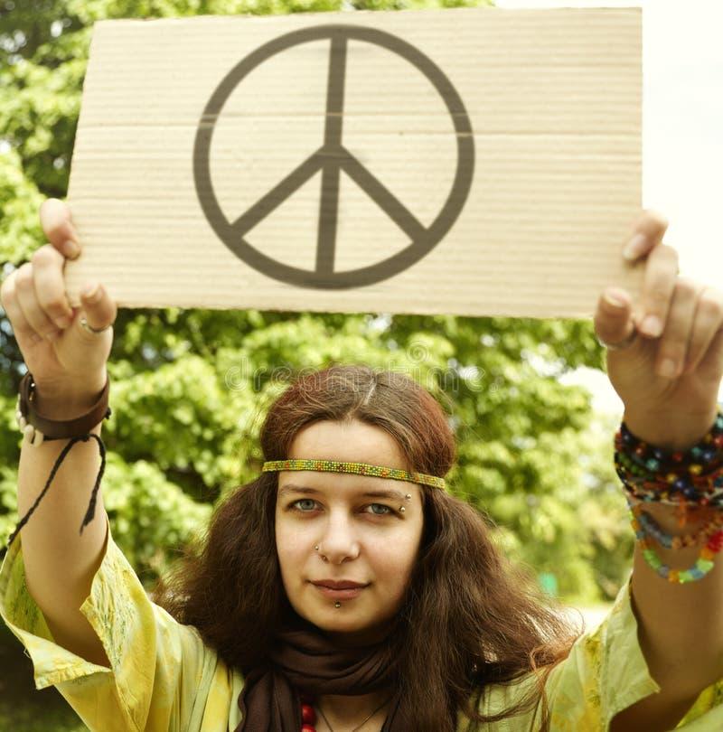 Hippie foto de stock royalty free