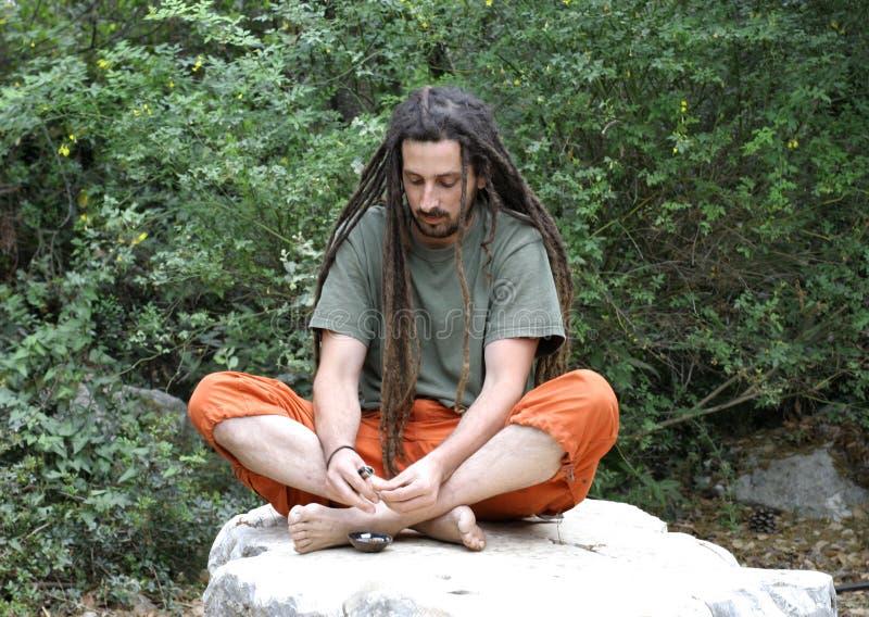 Hippie image libre de droits