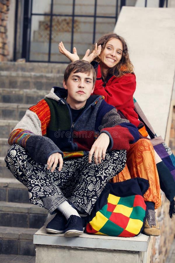 Hippie fotografia de stock royalty free