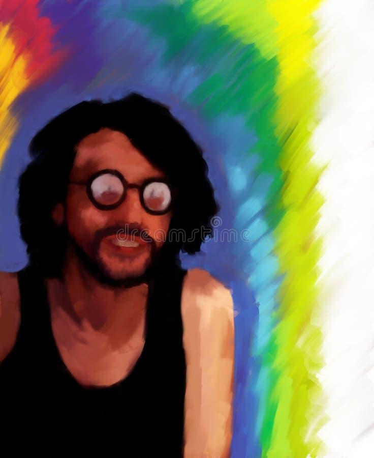 hippie ελεύθερη απεικόνιση δικαιώματος