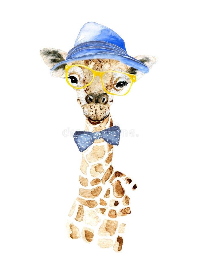 Hippie de girafe images libres de droits