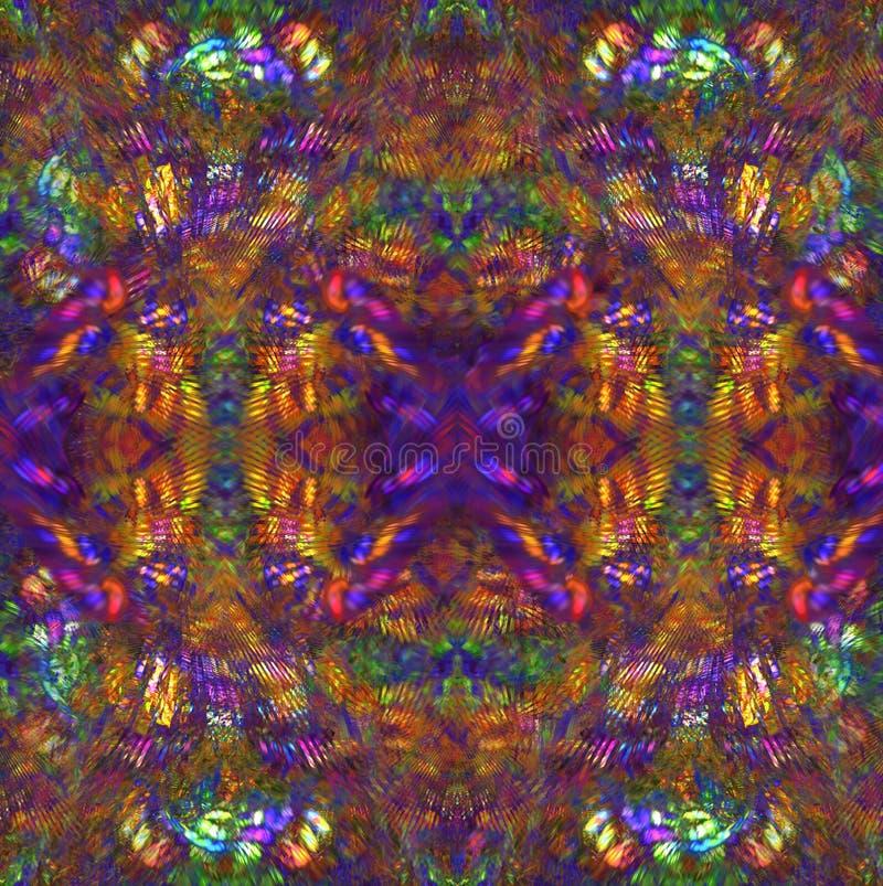Hippie-Hintergrund stock abbildung