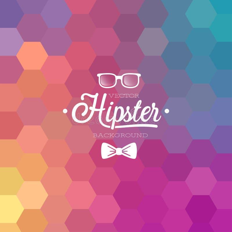 Hippie-Hintergrund. lizenzfreie abbildung